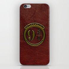 Logo Platform 9 3/4 iPhone & iPod Skin