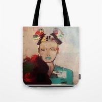 model Tote Bags featuring model by xoxo