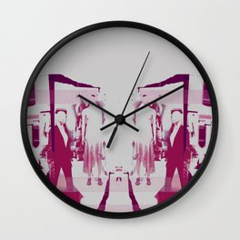 THE CITY OF MANNEQUINS Wall Clock
