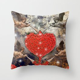 angels love Throw Pillow