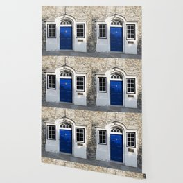 Blue Door Wallpaper