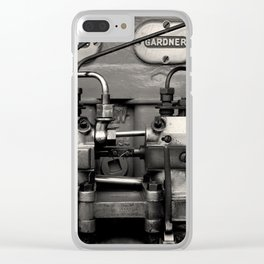 Delicious Engineering Clear iPhone Case