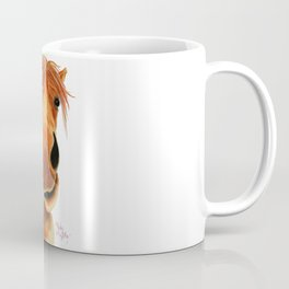 Happy Horse ' GINGER NUT ' by Shirley MacArthur Coffee Mug