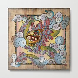 Quetzalcóatl, Lord Of The Wind Metal Print