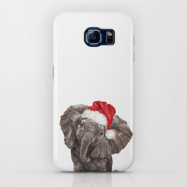 Christmas Baby Elephant iPhone Case