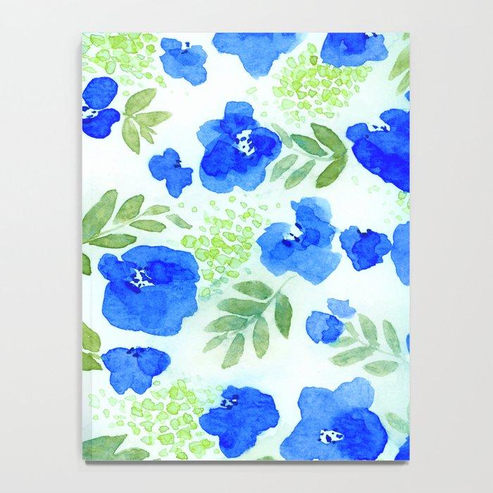 Floret (Blue) Notebook