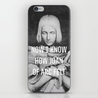 the smiths iPhone & iPod Skins featuring Joan of Arc by Anna Dorfman