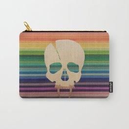 Rainbow Skull Carry-All Pouch