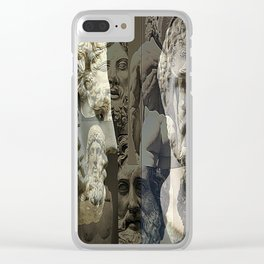 Phillip of Macedon series 7 Clear iPhone Case