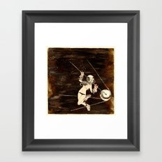 Bodies in Space: Convection Framed Art Print