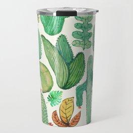 nature pattern collab. Travel Mug