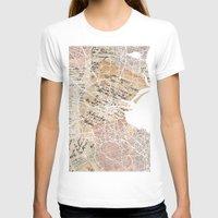 dublin T-shirts featuring Dublin map by Mapsland