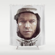 The Martian Shower Curtain