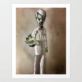 dr patel Art Print