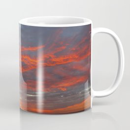 Fire Clouds Coffee Mug
