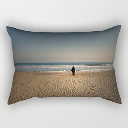 the woman and the sea Rectangular Pillow
