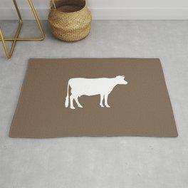 Cow: Brown Rug