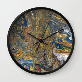 Abstract Oil Painting 23 Wall Clock