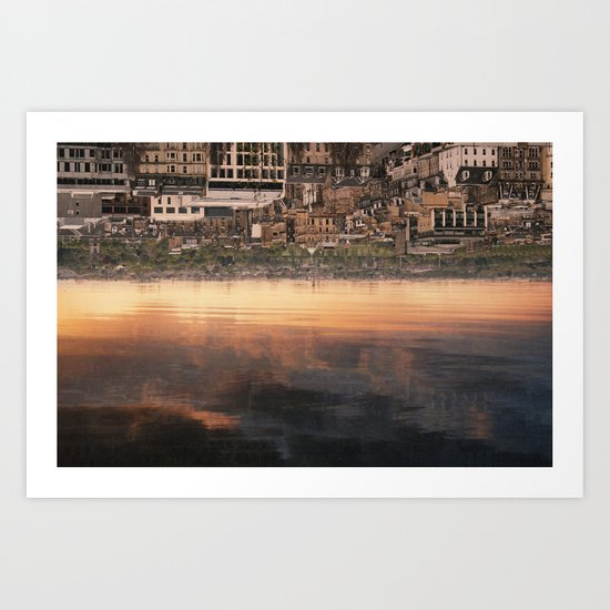 inverted views Art Print
