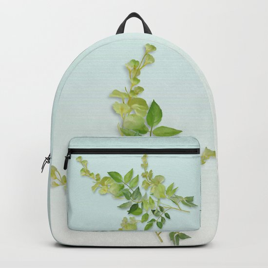 Yellow Tiny Flowers Backpack