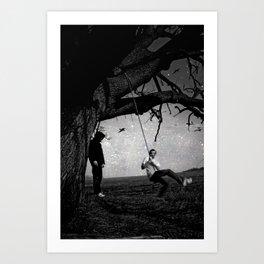 life & dead Art Print