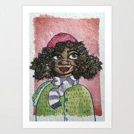 People 003 Art Print