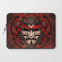 Samurai Mask, Budo, Bushido, Laptop Sleeve