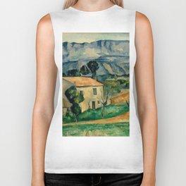 """Paul Cezanne """"House in Provence"""" Biker Tank"""