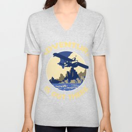 Adventure is Out There! Unisex V-Neck