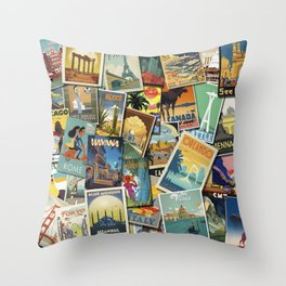 Adventure Calls Throw Pillow