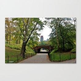 Central Park Life Canvas Print