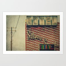 Silver Sands Motel Art Print