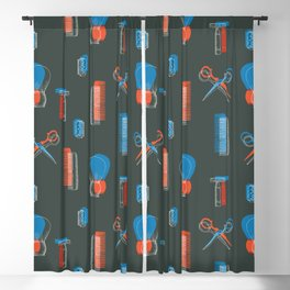 Barber Tools Blackout Curtain