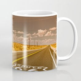U.S. Route 66 highway. Coffee Mug