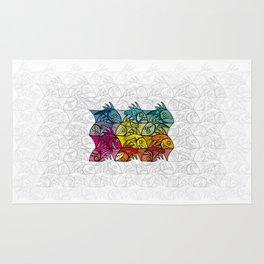 EscherFishes Rug
