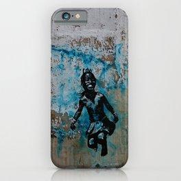 JUMPING CHILD - urban ART iPhone Case