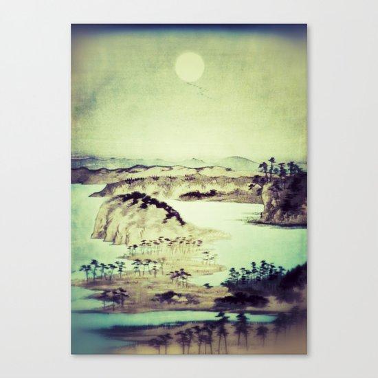 As the birds fly towards Kanoi Canvas Print