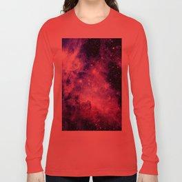 Galaxy Nebula Purple Pink : Carina Nebula Long Sleeve T-shirt