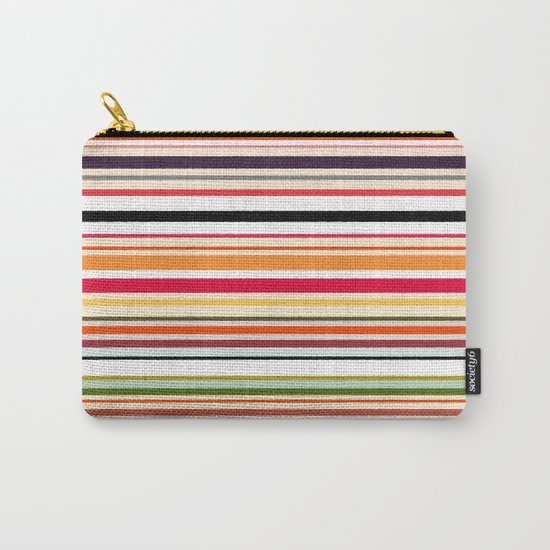 apartment stripe Carry-All Pouch