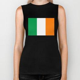 Flag of the Republic of Ireland Biker Tank