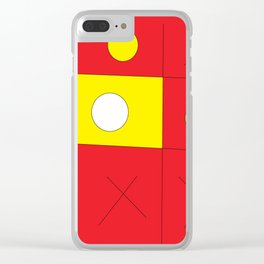 No One Wins Clear iPhone Case