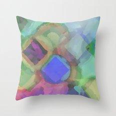 WaterColor#1 Throw Pillow