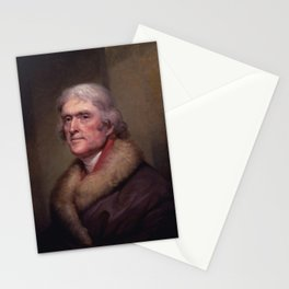 President Thomas Jefferson Stationery Cards