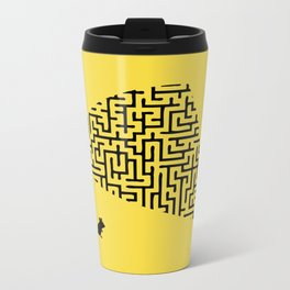 Problem is Solution Metal Travel Mug