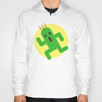 final fantasy Hoodies featuring Final Fantasy - Cactuar by Versiris