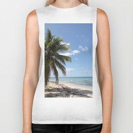Isla Saona Caribbean Paradise Beach Biker Tank