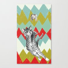 Catch the hamster. Canvas Print