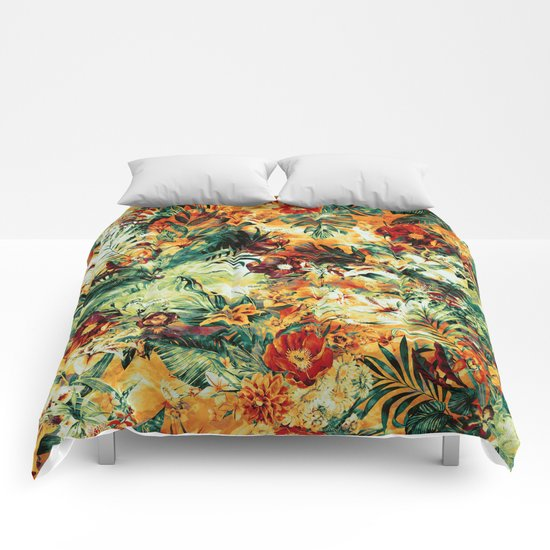 Tropical Haven II Comforters