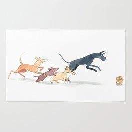 Come Join Our Dog Pack Rug