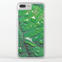 #183 Clear iPhone Case